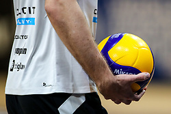 Feature of a ball during volleyball match between ACH Volley Ljubljana and Calcit Kamnik in Mevza League 2020/21, on October 17, 2020 in Hala Tivoli, Ljubljana, Slovenia. Photo by Matic Klansek Velej / Sportida