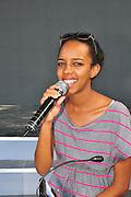 Kochav Nolad (A Star is Born) The Israeli Version of American Idol. The finalist and winner Hagit Yasu July 2011