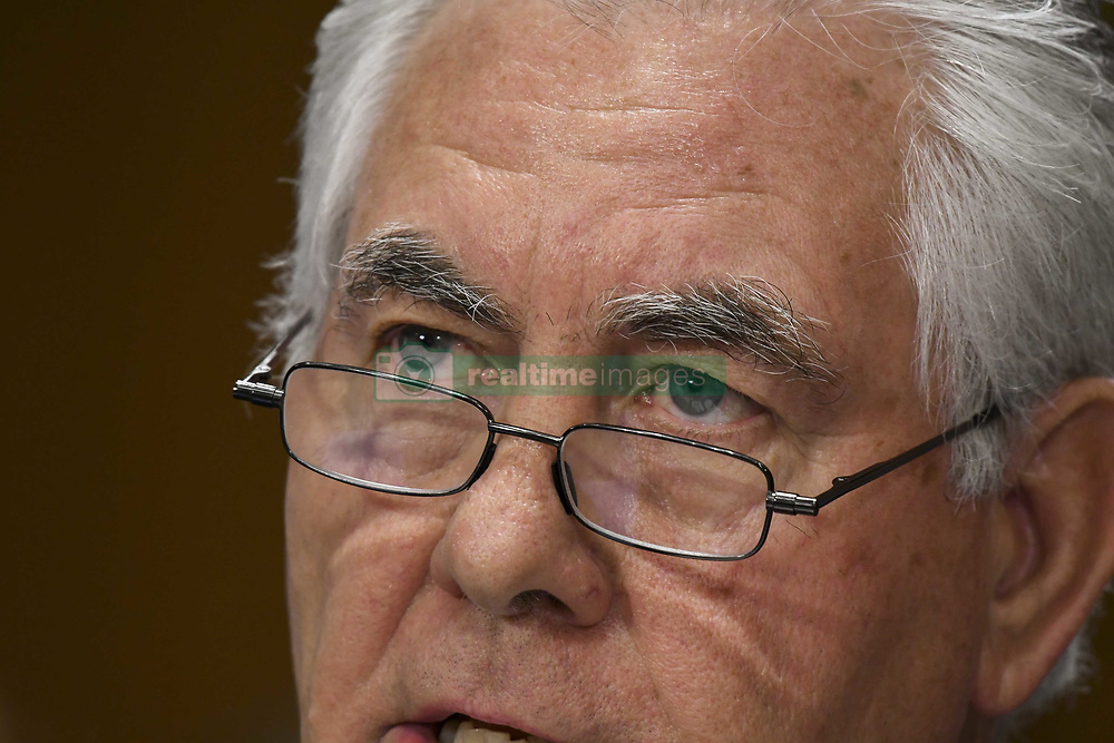 June 13, 2017 - Washington, District of Columbia, U.S - Secretary of State Rex Tillerson testifies today in front of the Senate Foreign Relations Committee (Credit Image: © Mark Reinstein via ZUMA Wire)