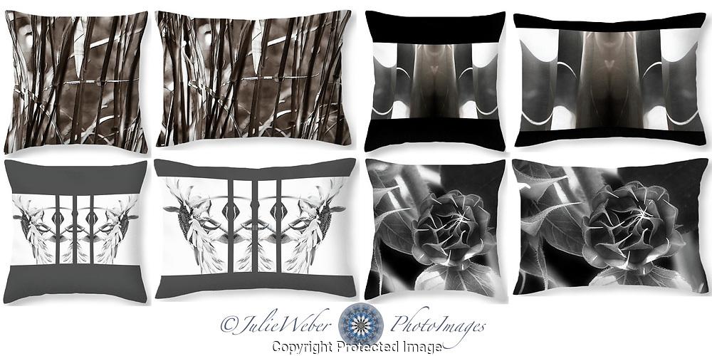 Monochrome - Shop here: https://2-julie-weber.pixels.com/shop/throw+pillows/monochrome