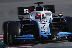 March 1, 2019 - Barcelona, Catalonia, Spain - March 1st, 2019 - Circuit de Barcelona-Catalunya, Montmelo, Spain - Formula One preseason 2019; Robert Kubica of Williams F1 Racing Team during the afternoon session of the day 8. (Credit Image: © Marc Dominguez/ZUMA Wire)