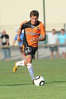 FOOTBALL - FRIENDLY GAMES 2010/2011 - FC LORIENT v STADE LAVALLOIS - 10/07/2010 - PHOTO PASCAL ALLEE / DPPI - MATHIAS AUTRET (LOR)