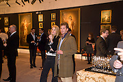 JOSEPHINE PERFALL; FELIX KUNA, Preview party for the Versace Sale.  The contents of fashion designer Gianni Versace's villa on Lake Como. Sothebys. Old Bond St. London. 16 March 2009.  *** Local Caption *** -DO NOT ARCHIVE -Copyright Photograph by Dafydd Jones. 248 Clapham Rd. London SW9 0PZ. Tel 0207 820 0771. www.dafjones.com<br /> JOSEPHINE PERFALL; FELIX KUNA, Preview party for the Versace Sale.  The contents of fashion designer Gianni Versace's villa on Lake Como. Sothebys. Old Bond St. London. 16 March 2009.