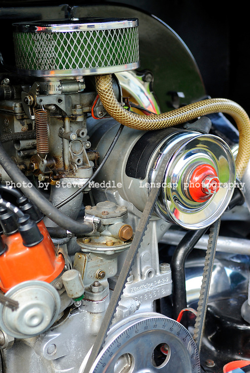 Volkswagen Beetle 1303 Engine Compartment Detail - 2010