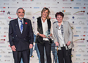 Scottish Borders Business Excellence Awards 2016, Best Social Enterprise Company of the Year. Sponsored by Scottish Borders Social Enterprise Chamber C.I.C. Winner ~ Radio Borders Cash for Kids, Tweedbank.<br /> <br /> The 2016 Scottish Border Business  Excellence Awards, held at Springwood Hall, Kelso. The awards were run by the Scottish Borders Chambers of Commerce, with guest speaker Councillor Stuart Bell, BSC Executive Member for Economic Development.  The SBCC chairman Jack Clark and the presenter Fiona Armstrong co hosted the event.
