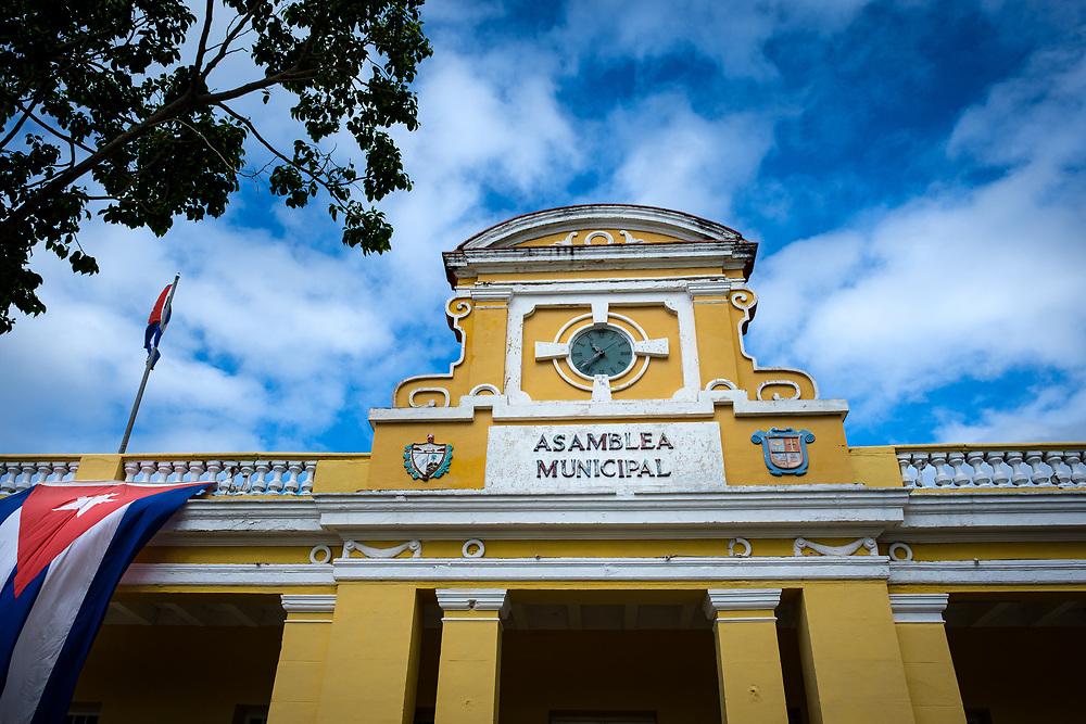 TRINIDAD, CUBA - CIRCA JANUARY 2020: Asamblea Municipal of Trinidad