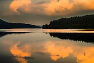 Golyam Beglik Lake at sunset time