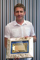Tomaz Bele, director of FC Luka Koper at  PrvaLiga draw before new football season 2011/2012 in Slovenia, on June 23, 2011, in Hotel Kokra, Brdo pri Kranju, Slovenia. (Photo by Vid Ponikvar / Sportida)