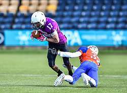 Durham Saints v Derby Braves<br /> <br /> Photographer Craig Thomas/Replay Images<br /> <br /> <br /> BUCS National Championship - Durham Saints v Derby Braves  - Sunday 25th March 2018 - Sixways Stadium - Worcester<br /> <br /> World Copyright © 2017 Replay Images. All rights reserved. info@replayimages.co.uk - www.replayimages.co.uk