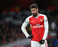 Arsenal's Olivier Giroud in action during the Premier League match at the Emirates Stadium, London. Picture date October 26th, 2016 Pic David Klein/Sportimage