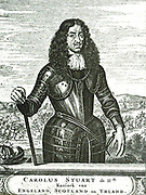 King Charles II, crowned King of England in 1660, after having been in exile in the Netherlands for many years.  Soon afterwards the rival states renewed their war for the leadership in commerce and sea-transport.  This resulted, as far as the Cape is concerned, in the building of the Castle.