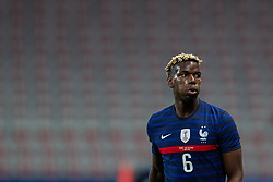 NICE, FRANCE - Wednesday, June 2, 2021: France's Paul Pogba during an international friendly match between France and Wales at the Stade Allianz Riviera ahead of the UEFA Euro 2020 tournament. (Pic by Simone Arveda/Propaganda)