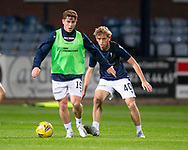 06/10/2020: Dundee FC train at Kilmac Stadium after their Betfred Cup match against Forfar Athletic was postponed due to a positive COVID test result for one of the Forfar players: Finlay Robertson and Cammy Blacklock <br /> <br /> <br />  :©David Young: davidyoungphoto@gmail.com: www.davidyoungphoto.co.uk