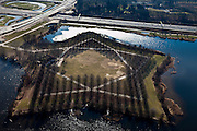 Nederland, Noord-Brabant, Den Bosch, 07-03-2010 ; .De Pettelaarse Schans, Zuidplas..luchtfoto (toeslag), aerial photo (additional fee required).foto/photo Siebe Swart