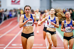 Boston University David Hemery Valentine <br /> Indoor Track & Field Danielle Aragon, HOKA One One, wins Mile , HOKA, NJNYTC,