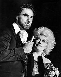 File photo - Burt Reynolds and Dolly Parton at Burt Reynolds Theater on July 15, 1982. 1970s' movie heartthrob and Oscar nominee Burt Reynolds has died at the age of 82. He reportedly passed away in a Florida hospital from a heart attack with his family by his side. Photo by Rich Mahan/Sun Sentinel/TNS/ABACAPRESS.COM