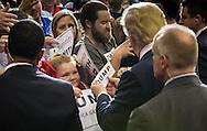Little girl at a Trump rally in Baton Rouge Louisiana.