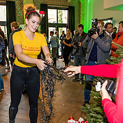 NLD/Amsterdam/20161207 - 8e Sky Radio's Christmas Tree For Charity, Emma Deckers