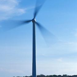 Wind Turbine in Hull, Massachusetts.