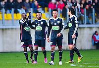 Joie Mouhamadou DABO / Joie Lyon - 04.01.2014 - Lens / Lyon - Coupe de France<br />Photo : Dave Winter / Icon Sport