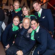 NLD/Rijswijk/20170123 - Premiere Boeing Boeing, Koos Alberts en Transavia stewardessen