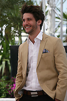 actor Jean-sébastien Courchesne at the 'Sarah Prefere La Course' (Sarah Would Rather Run) film photocall at the Cannes Film Festival Tuesday 21 May 2013