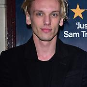 London, England, UK. 23 January 2018.Jamie Campbell Bower Arrivers at Beginning - press night at Ambassadors Theatre.