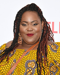 August 9, 2018 - Hollywood, California, USA - ASHLEY D. KELLEY attends Netflix's 'Insatiable' Season 1 premiere at ArcLight Hollywood. (Credit Image: © Billy Bennight via ZUMA Wire)