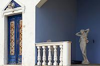 Grèce, Les Cyclades, Ile de Santorin (Thira), village de Fira // Greece, Cyclades, Santorini island, Fira village