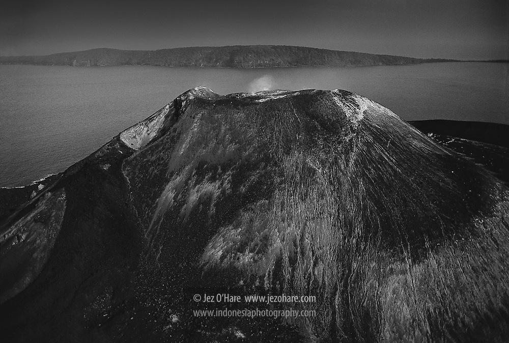 Mount Anak Krakatau, Krakatau Nature Reserve, Sunda Straits, Lampung, Sumatra, Banten, Java, Indonesia.