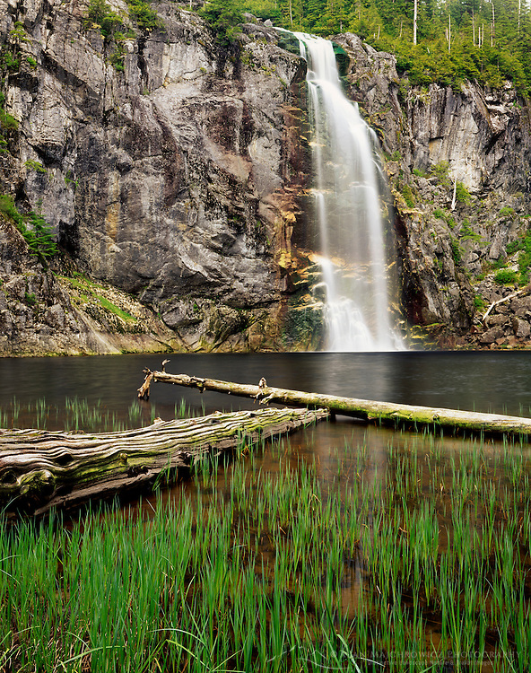 Twin Falls Mount Baker Snoqualmie National Forest Washington USA
