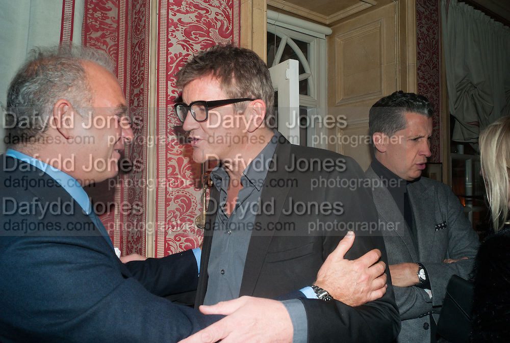 CHARLES FINCH; JAY JOPLING, Charles Finch and  Jay Jopling host dinner in celebration of Frieze Art Fair at the Birley Group's Harry's Bar. London. 10 October 2012.