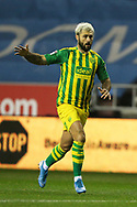 West Bromwich Albion forward Charlie Austin (15) during the EFL Sky Bet Championship match between Wigan Athletic and West Bromwich Albion at the DW Stadium, Wigan, England on 11 December 2019.
