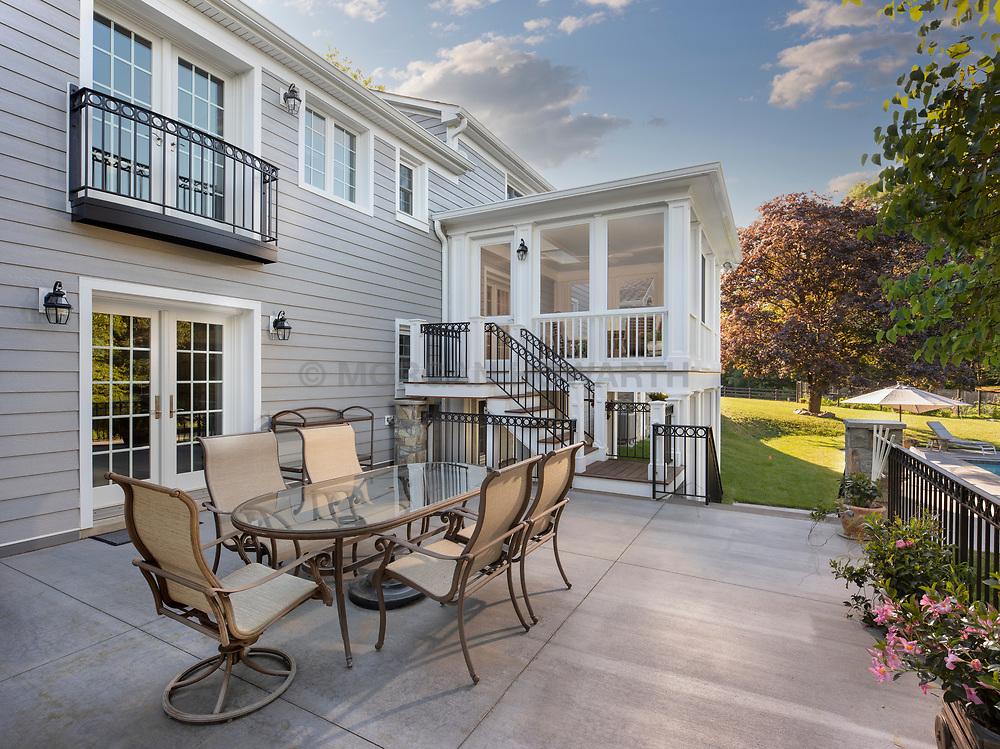 13913 Esworthy Exterior and interior of Addition screened in porch with patio Invoice_4021_13913_Esworthy_Gilday VA2_267_706
