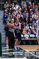22 January 2011: 100th McLean County Tournament.  Championship game - Ridgeview Mustangs v ElPaso Gridley Titans, girls