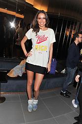 SASHA VOLKOVA at the launch of famed American fitness club 'Equinox' 99 High Street Kensington, London on 23rd October 2012.
