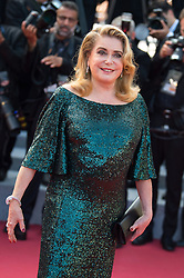 Catherine Deneuve arriving on the red carpet for the Closing Ceremony and 'The Specials (Hors normes)' screening held at the Palais Des Festivals in Cannes, France on May 25, 2019 as part of the 72th Cannes Film Festival. Photo by Nicolas Genin/ABACAPRESS.COM