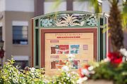 Information Legend for Paseo Colorado Pasadena California