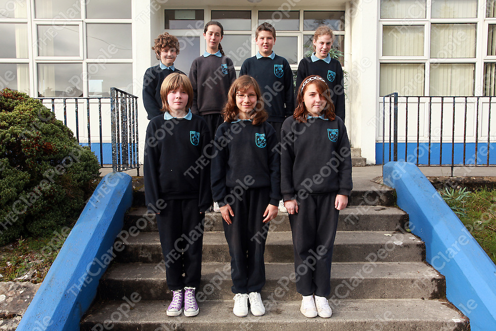 Kilmaley National School Confirmation class.<br /> Photograph by Yvonne Vaughan