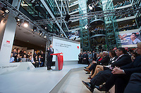 29 JAN 2016, BERLIN/GERMANY:<br /> Martin Schulz, SPD, Kanzlerkandidat, haelt seine Vorstellungsrede, Vorstellung von Schulz als Kanzlerkandidat der SPD zur Bundestagswahl, nach der Nominierung durch den SPD-Parteivorstand, Willy-Brandt-Haus<br /> IMAGE: 20170129-01-030<br /> KEYWORDS: Übersicht, uebersicht
