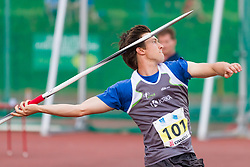 Klemen Bucar competes during day 2 of Slovenian Athletics Cup 2019, on June 16, 2019 in Celje, Slovenia. Photo by Peter Kastelic / Sportida
