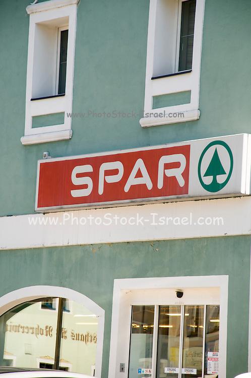 SPAR Convenience store Photographed in Austria