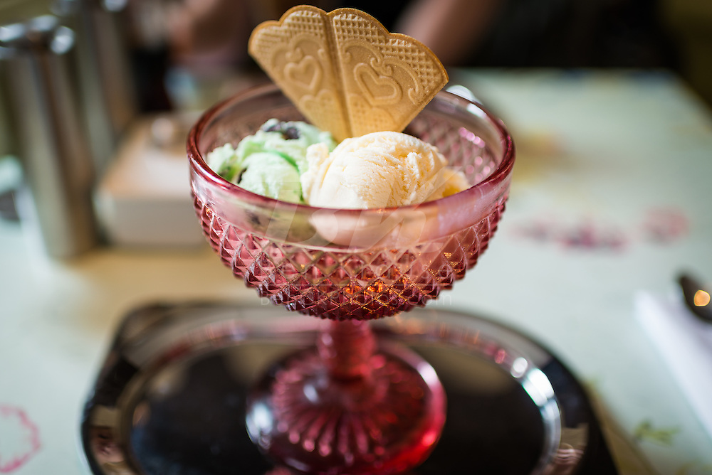 An order of ice cream at The Parlour in Fortnum & Mason.  It was so good that we visited twice!