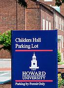 Howard University campus, Washington DC, USA
