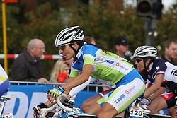 Alenka Novak (Slovenia) during the the Women´s Elite Road Race on day five of the UCI Road World Championships on September 24, 2011 in Copenhagen, Denmark. (Photo by Marjan Kelner / Sportida Photo Agency)....