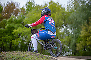 #96 (WALKER Sarah) NZL during practice at Round 3 of the 2019 UCI BMX Supercross World Cup in Papendal, The Netherlands