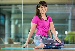 Hana Verdev, Personal Trainer during presentation of Pilates exercises, on October 20, 2016 in Sunny Studio, Ljubljana, Slovenia. Photo by Vid Ponikvar / Sportida