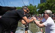 IMOCA Ocean Masters. New York - Barcelona Race start. Pictures of Neutrogena skipperJose Munoz (Chile)<br /> Credit: Mark Lloyd/Lloyd Images