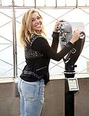 Rachel Platten Visits The Empire State Building