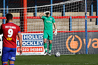 Ben Hinchliffe. Aldershot Town FC 1-2 Stockport County FC. Vanarama National League. The EBB Stadium. 2.4.21